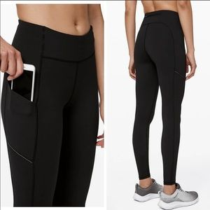 Lululemon speed up tight black leggings